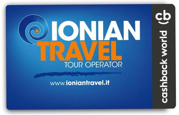 CASHBACK CARD IONIAN TRAVEL